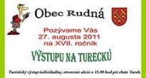 Obec Rudná pozýva milovníkov turistiky z okresu Rožňava a širokého okolia na 17. ročník výstupu na chatu Turek