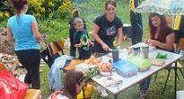 V Sirku vo varení guláša súťažili nielen ženské, ale aj mužské družstvá a zacvičili si aj Zumbu