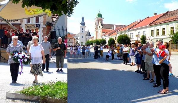 Malá spomienková slávnosť v Rožňave z príležitosti 1155. výročia príchodu solúnskych bratov na Veľkú Moravu
