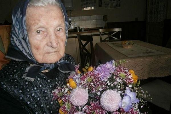 Čiperná, 100-ročná jubilantka z Revúckej Lehoty