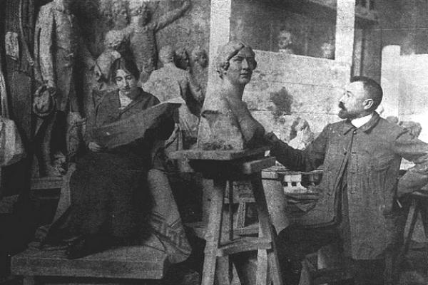 Barnabás Holló (1865 – 1917), sochár z Gemera-Malohontu