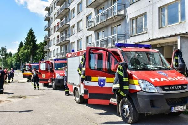 Dobrovoľný hasičský zbor mesta Jelšava mal v roku 2017 spolu 64 zásahov