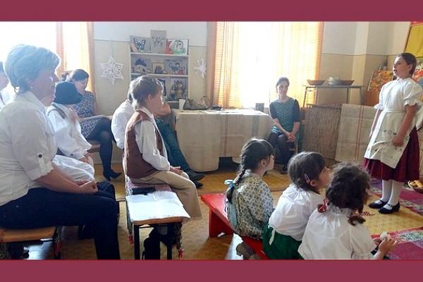 Súťaž v prednese ľudových rozprávok Arnolda Ipolyiho v Krásnohorskej Dlhej Lúke - regionálne kolo