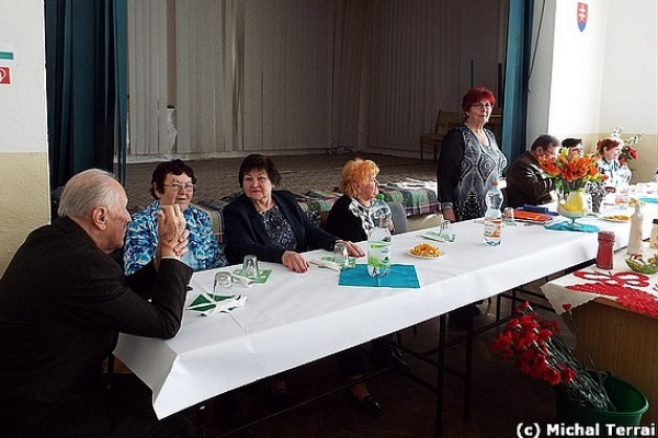 Oslavy MDŽ v Čiernej Lehote spojili s výročným hodnotením organizácie seniorov
