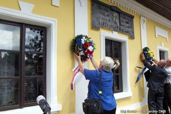 Spomienková slávnosť pri príležitosti 155. výročia úmrtia Pavla Jozefa Šafárika, kobeliarovského rodáka