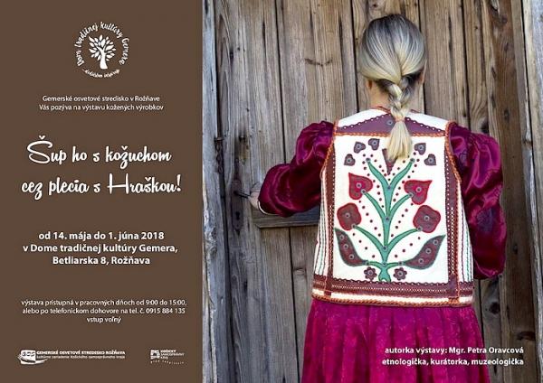 Výstava kožených výrobkov v Dome tradičnej kultúry Gemera
