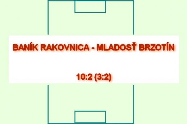 Dvanásť gólov padlo na futbalovom ihrisku v Rakovnici