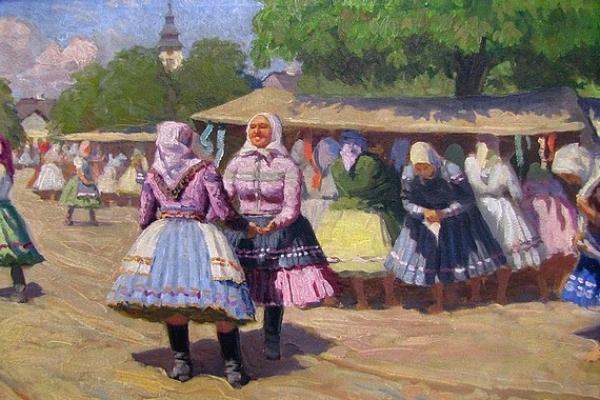 Obrazy umelca Zemplína Teodora Jozefa Moussona uvidíte na výstave v Andrássyho obrazárni v Krásnohorskom Podhradí