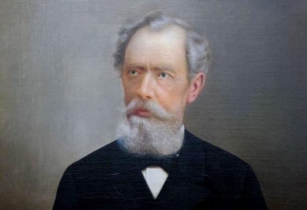 Predmet mesiaca august - portrét Istvána Baksayho, profesora a riaditeľa Zjednoteného protestantského gymnázia v Rimavskej Sobote