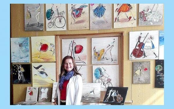Výstava dobšinskej umelkyne Moniky Vozárovej obohatí rožňavskú galériu