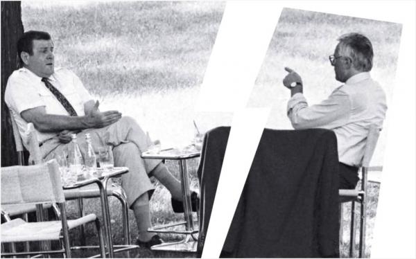 Historický moment delenia Československa z augusta 1992 a výstava fotografií Petra Brenkusa o tom v Rožňave