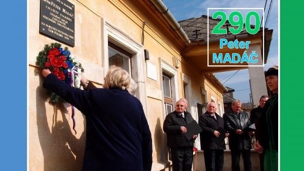 V Gemerskej Polome si pripomenuli 290. výročie narodenia svojho rodáka Petra Madáča