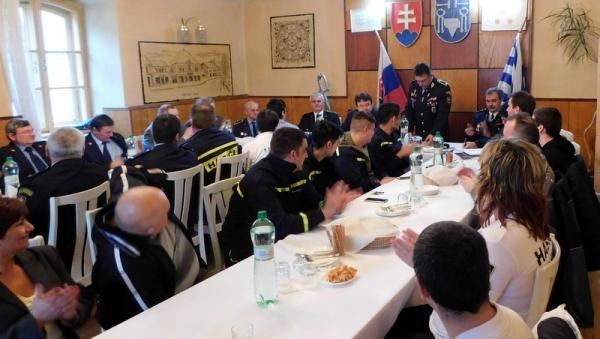 Jelšavskí hasiči bilancovali aj za účasti hostí z rumunského Nadlaku a maďarského Tótkomlóša