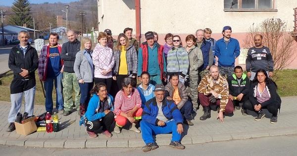 Aj tento rok Sirkovanci zorganizovali jarnú brigádu