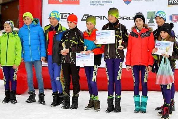 Medailová úroda revúckych žiakov v druhom kole Weissmannovho pohára v zimnom biatlone