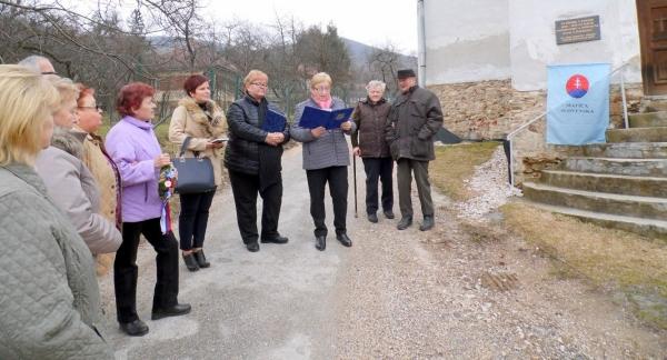 V Rožňavskom Bystrom si tiež pripomenuli 190. výročie narodenia Pavla Dobšinského
