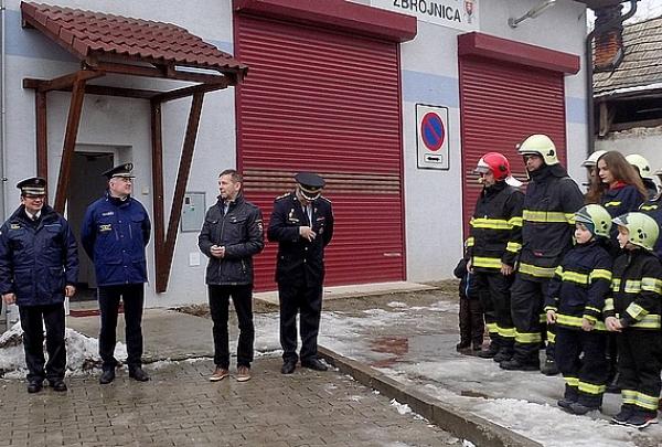 Prezident Hasičského a záchranného zboru SR generál JUDr. Alexander Nejedlý navštívil okres Revúca
