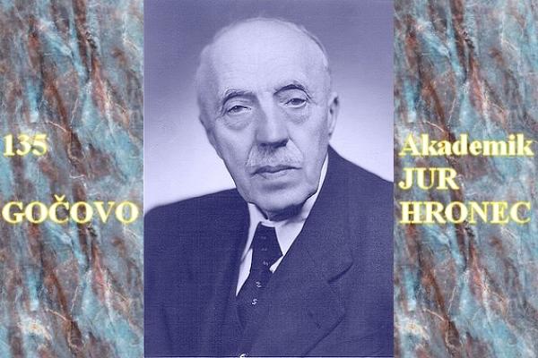 Gočovania spomínajú na svojho slávneho rodáka  akademika Jura Hronca