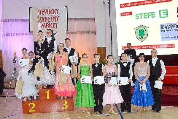 Revúcky tanečný parket o pohár viceprimátora mesta Revúca