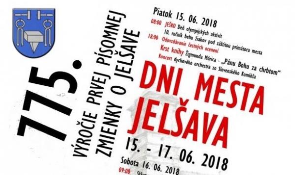 Jelšava si na Dňoch mesta pripomenie trištvrte tisícročné výročie prvej písomnej zmienky