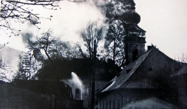 Spomienka na najväčší požiar v Revúcej