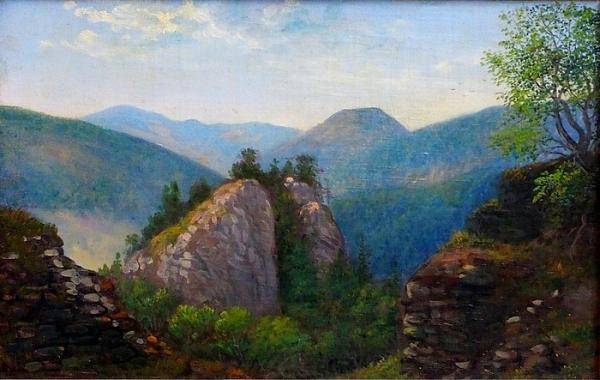 Nová akvizícia Gemersko-malohontského múzea - Olejomaľby s námetom Muráňa od Júliusa Sándyho (1827 – 1894)