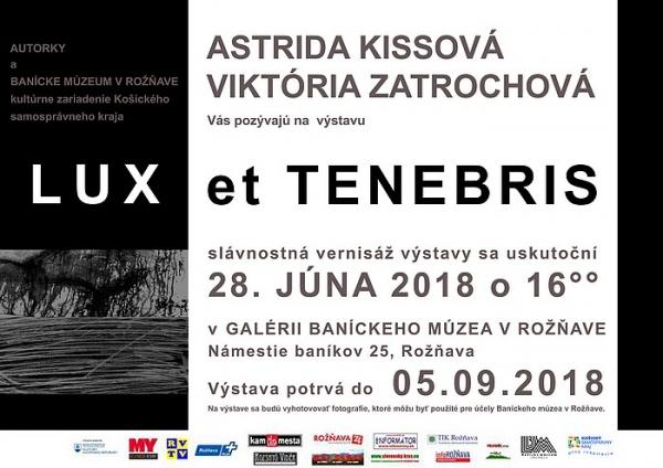 Výstava LUX et TENEBRIS v Rožňave predstaví dve výtvarníčky mladej generácie