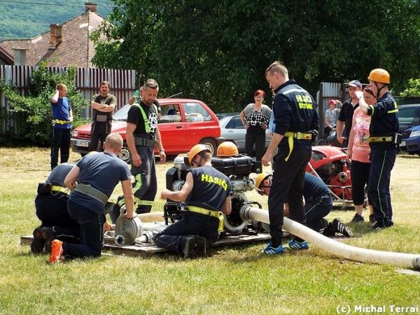 V Štítniku dobrovoľní hasiči pripravili IX. ročník Memoriálu Kolomana Holéczyho a Pohár predsedu ÚzO DPO SR Rožňava