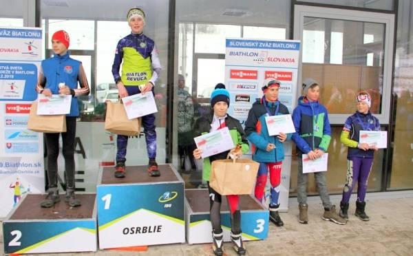 Zimná biatlonová sezóna pre Revúčanov úspešná