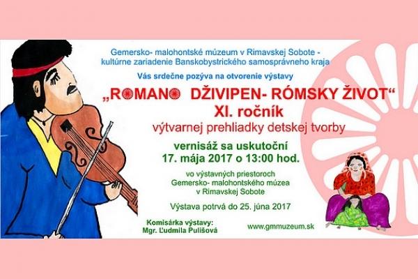 """Opäť pripravujú výstavu detských výtvarných prác pod názvom """"ROMANO DŽIVIPEN - RÓMSKY ŽIVOT"""""""