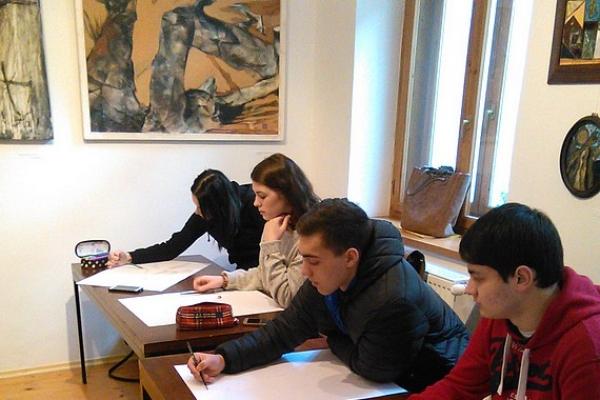 Študenti opäť tvorili v Galérii Baníckeho múzea v Rožňave
