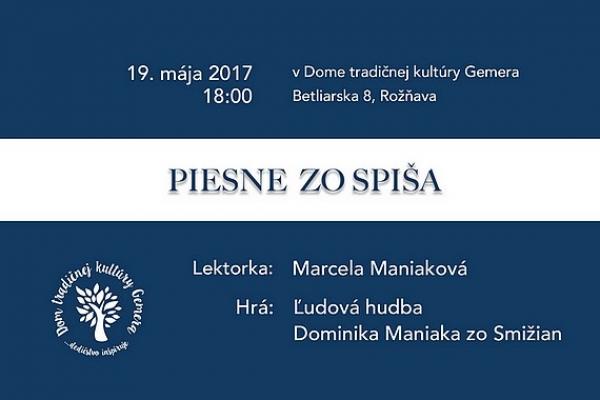 Spevácke domy na Gemeri obohatia Piesne zo Spiša a Mária Maniaková