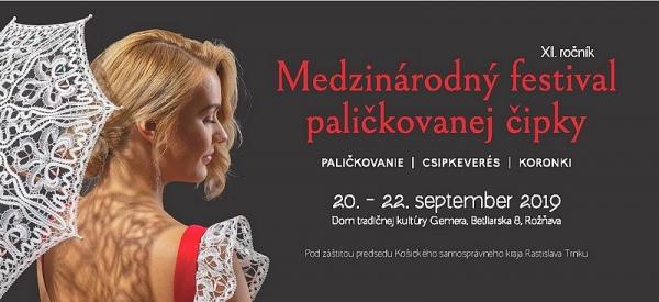 Medzinárodný festival paličkovanej čipky spája tradíciu a súčasnosť