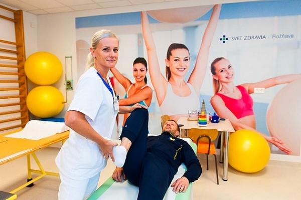 Nemocnica v Rožňave má nové fyziatricko-rehabilitačné oddelenie