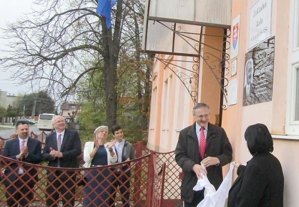 Základnej škole udelili čestný názov po národovcovi Jankovi Jesenskom