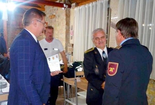 Jelšavskí hasiči na oslavách 135. výročia DHZ v Nadlaku (Rumunsko)