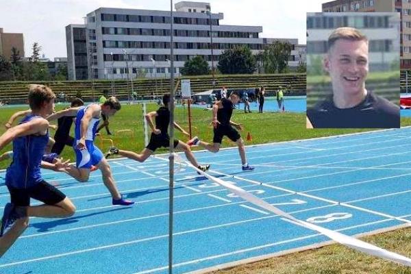 Majstrom Slovenskej republiky v behu na 60 m sa stal Roman Krokavec zo ZŠ J. A. Komenského v Revúcej