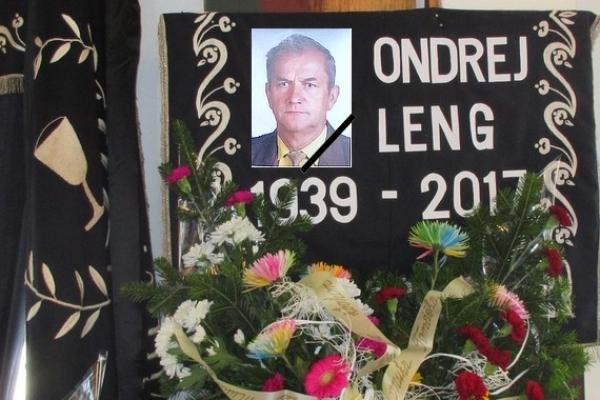 Posledná rozlúčka s Ondrejom Lengom v Rožňavskom Bystrom
