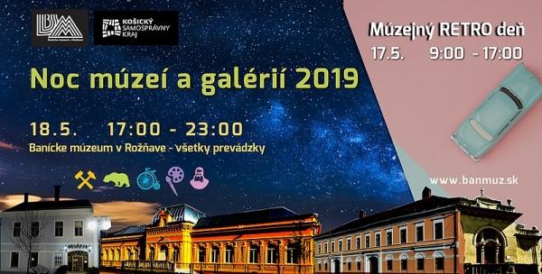 Noc múzeí a galérií, podujatie medzinárodného formátu pripravené aj pre Gemerčanov