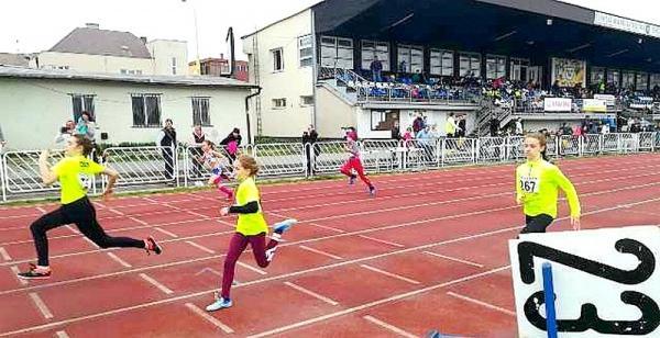 Úspešný úvod atletickej sezóny atlétov zo ZŠ J. A. Komenského