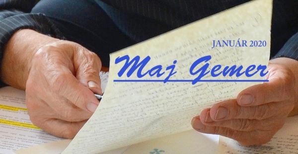 Poďakovanie za pozornosť v uplynulom roku vám patrí aj od stránky Maj Gemer