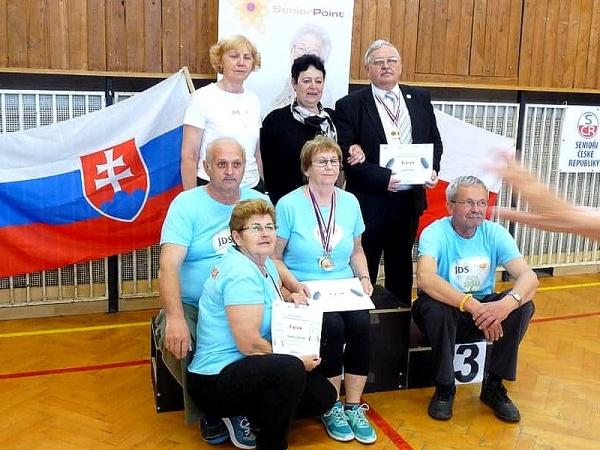 Seniori nášho kraja na 2. ročníku Medzinárodných športových hier seniorov v Ostrave