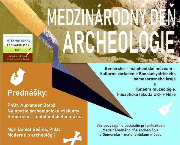 Medzinárodný deň archeológie v Gemersko-malohontskom múzeu