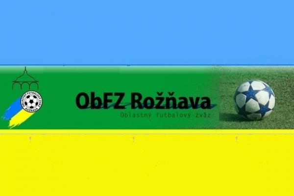 Úradná správa ObFZ Rožňava č. 3/2016-2017