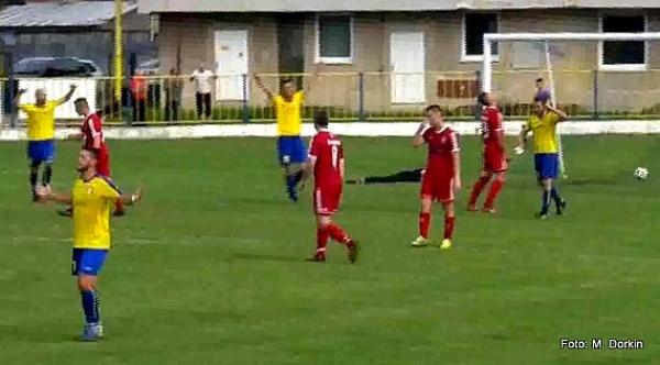 Desať gólov v Hrhove neuspokojilo domácich futbalistov