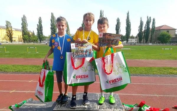 Úspešná účasť mladých revúckych športovcov na 5. ročníku O pohár Slávie TU Košice
