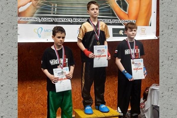 Tretie miesto v 2. kole Open ligy SZKB v kickboxe patrí Leonu Revúca