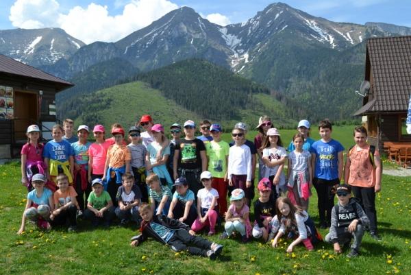 Zocháči z Revúcej smerovali do školy v prírode pod Belianskymi Tatrami