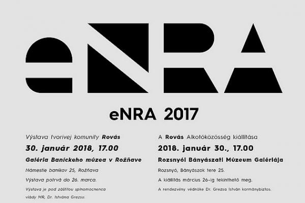 Medzinárodná tvorivá komunita Rovás (eNRA) vystavuje tento rok v Rožňave už po piatykrát