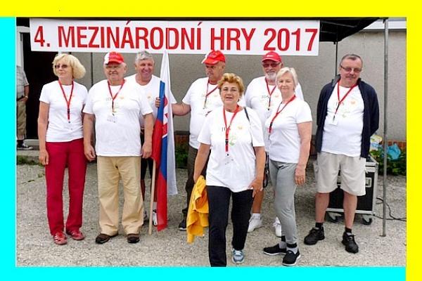 Zážitky košických a žilinských seniorov zo 4. Medzinárodných športových hier seniorov vo Frýdku-Místku